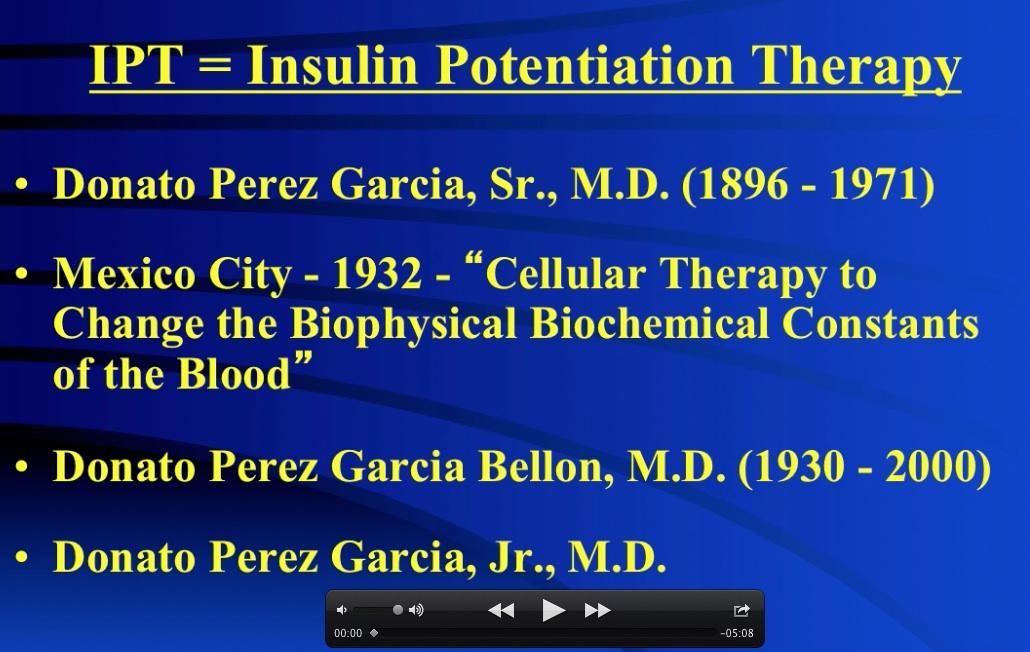 History and Development of IPT