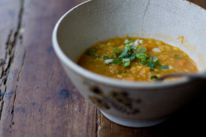 Coconut Red Lentil Soup - photo courtesy Heidi Swanson (www.101cookbooks.com)