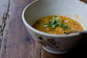 Coconut Red Lentil Soup - photo courtesy Heidi Swanson (www.101cookbooks.com)